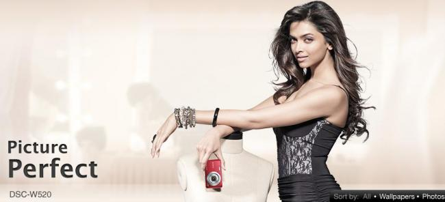 Deepika Padukone -  Deepika Padukone Latest Photoshoot For Sony Cybershots