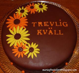 Brun tårta