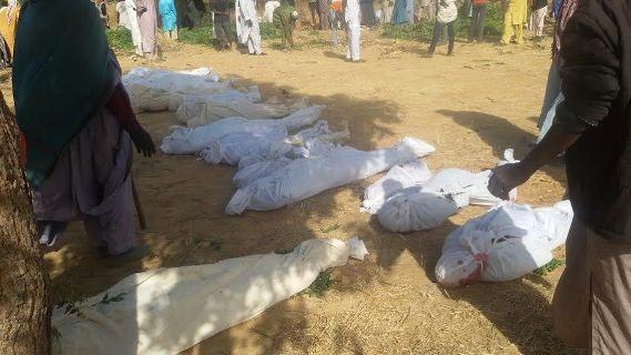 So Sad!! 20 Members Of A Family Killed In Maiduguri Boko Haram Attack (Photos) C