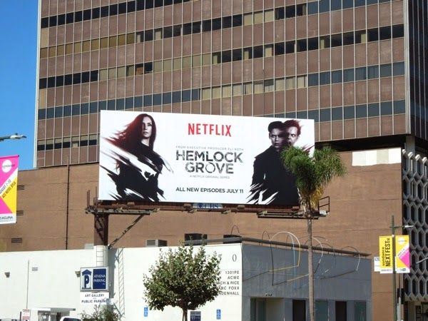 Hemlock Grove series 2 billboard