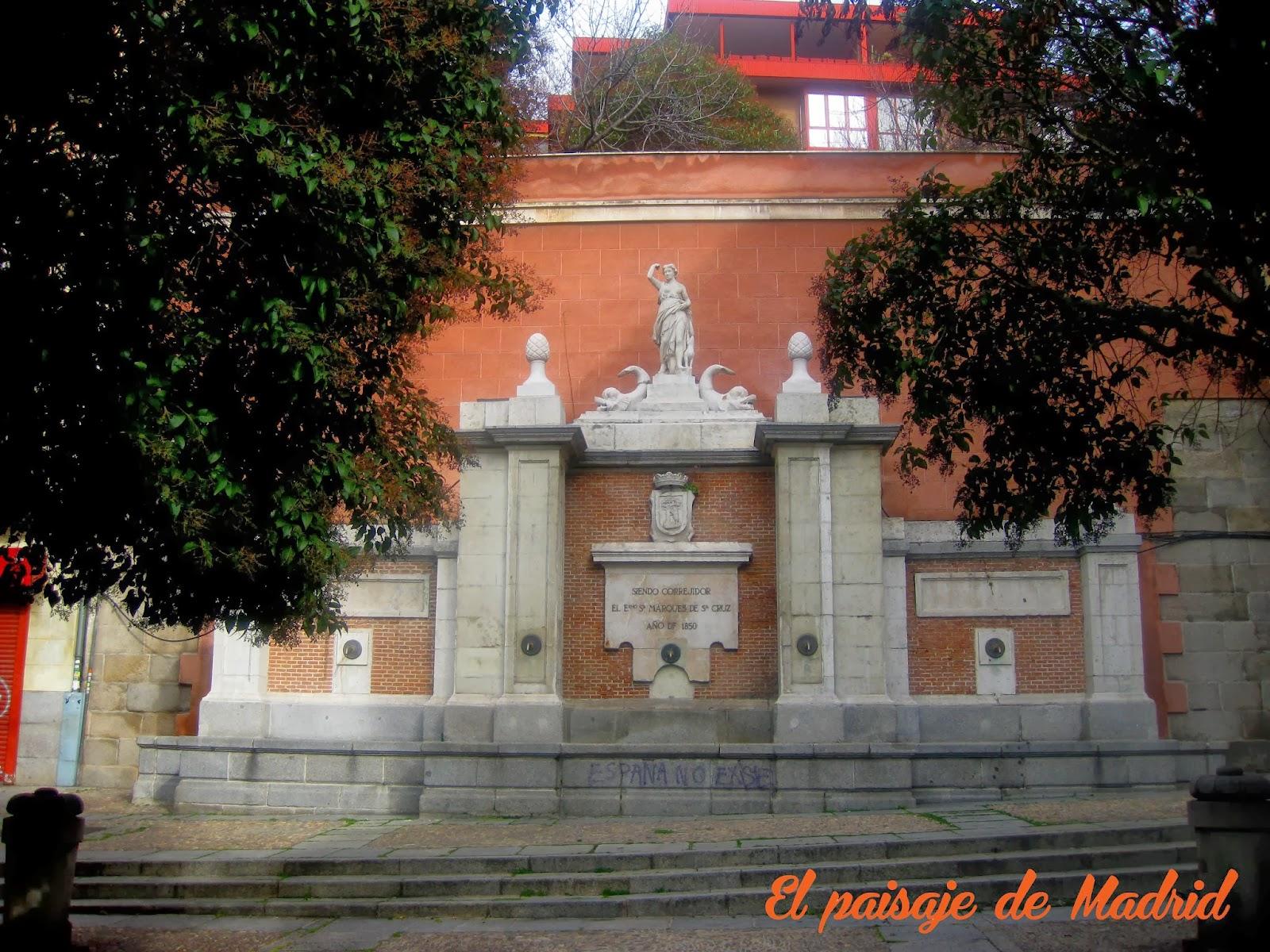 El desaparecido Convento del Sacramento-Diana Cazadora