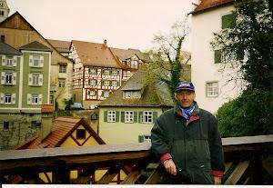 波登湖的沿湖景点之一:Meersburg,古老的房屋诗意十足。