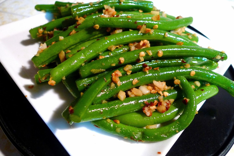 SWEET AS SUGAR COOKIES: Spicy Garlic Green Beans