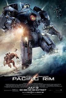 Pacific Rim, movie, poster, Guillermo del Toro, kaiju, jaeger