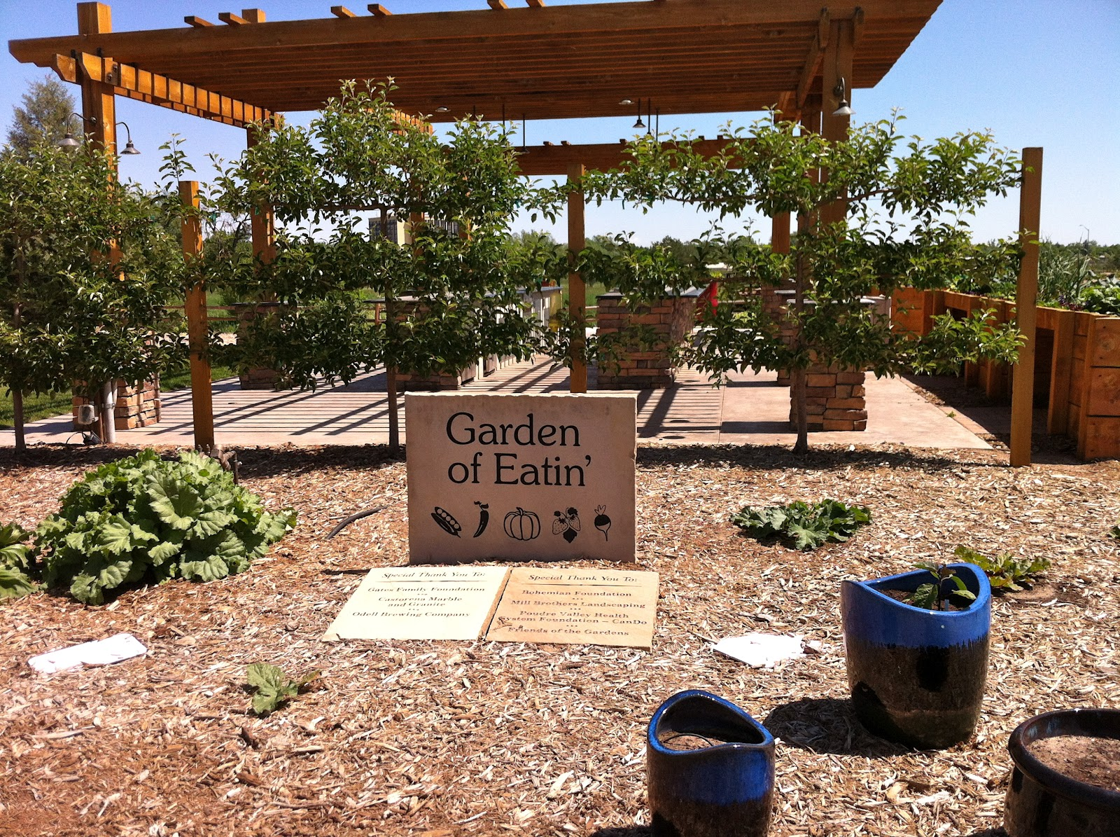 The Brighter Writer: The Gardens On Spring Creek