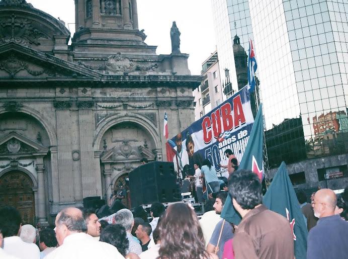 APOYAMOS LA REVOLUCION CUBANA