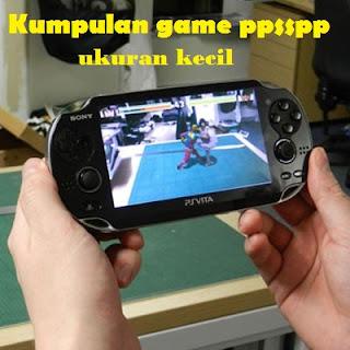 Kumpulan game ppsspp android ukuran kecil lengkap