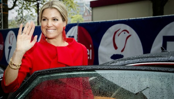 Queen Maxima Attends The 10-Year Jubilee Of The Foundation Vier Het Leven