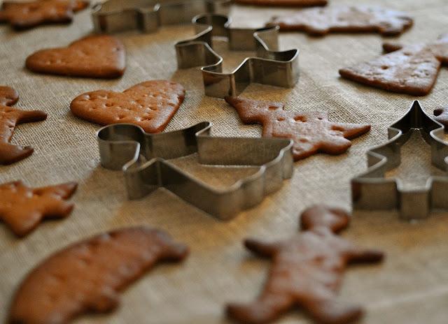 brune kager jul