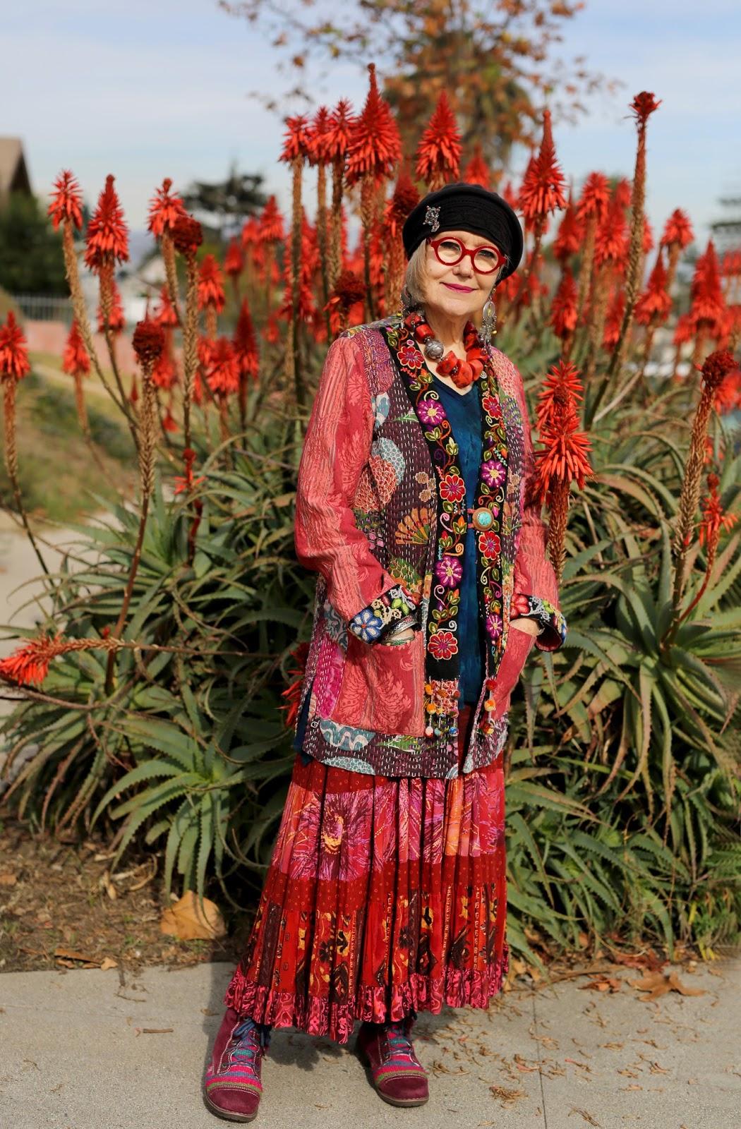 Streetstyle cực chất của những fashionista bô lão ảnh 15