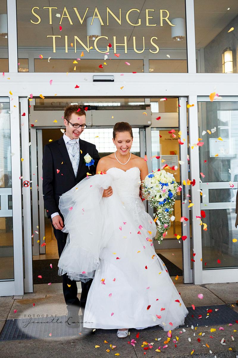 bryllup, Stavanger Tinghus