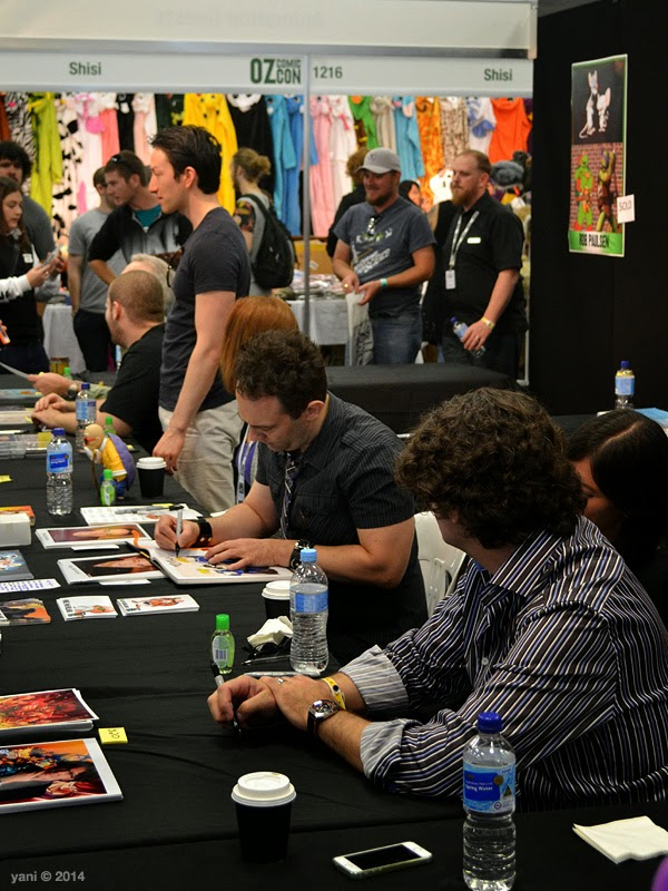 oz comic-con adelaide - the animation guests