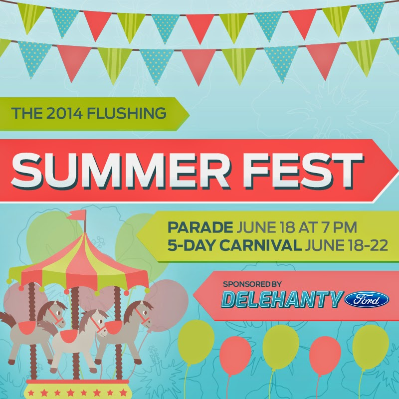 Join Us for the 2014 Flushing Summer Fest!