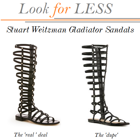 Stuart Weitzman Gladiators Look Alike, Stuart Weitzman Gladiators