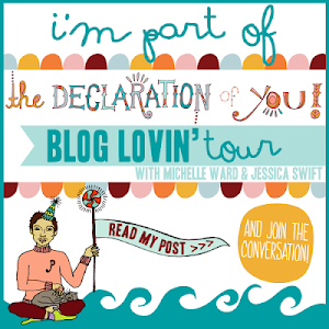 Declaration of You BlogLovin Tour