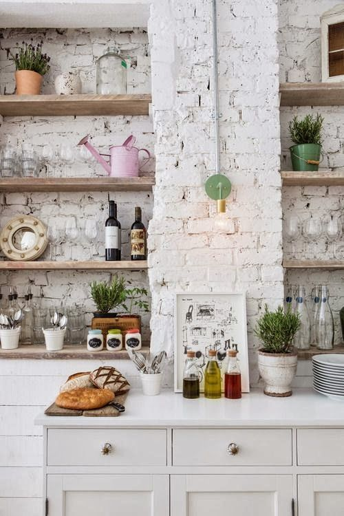 La fabrique d co des briques dans la cuisine - Cuisine deco design ...
