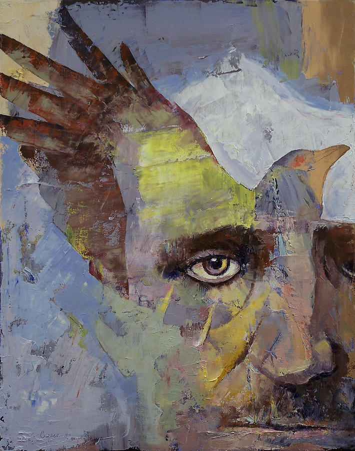 "Edgar Allan Poe ""por Michael Creese"