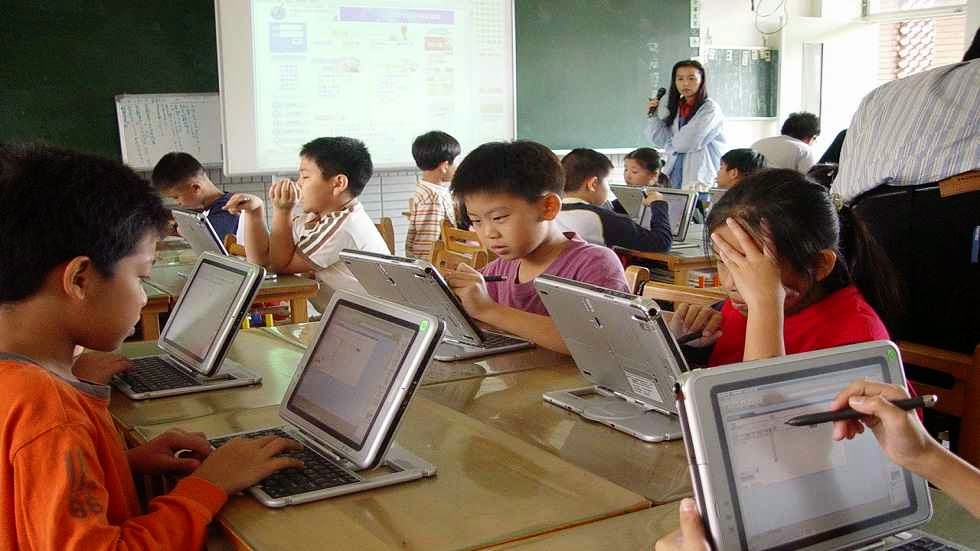 Modern Classroom Teaching : Modern technology on education