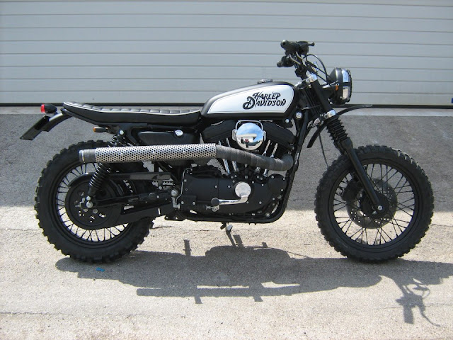 Harley Davidson Sportster Scrambler | Harley Davidson Scrambler | Harley Sportster Scrambler | Custom Scrambler | Scrambler Seat | Scrambler parts
