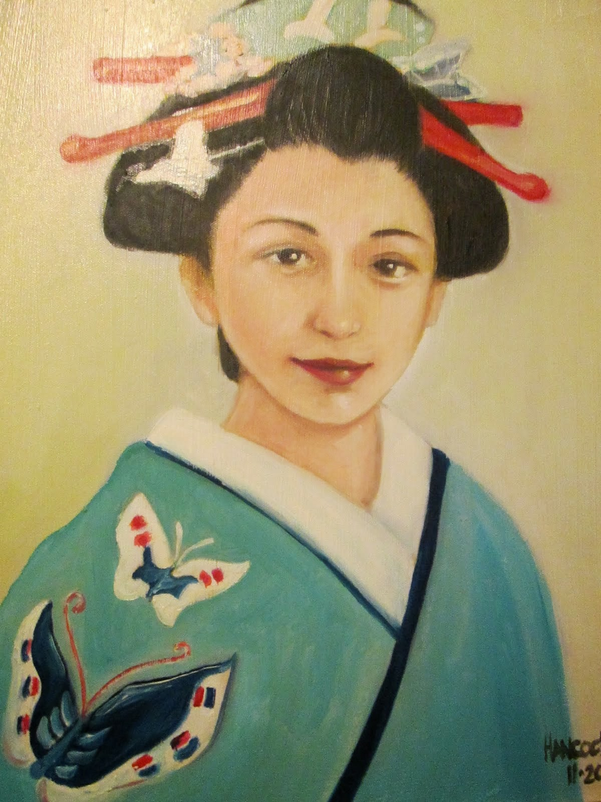 Japanese Girl in Blue......2011