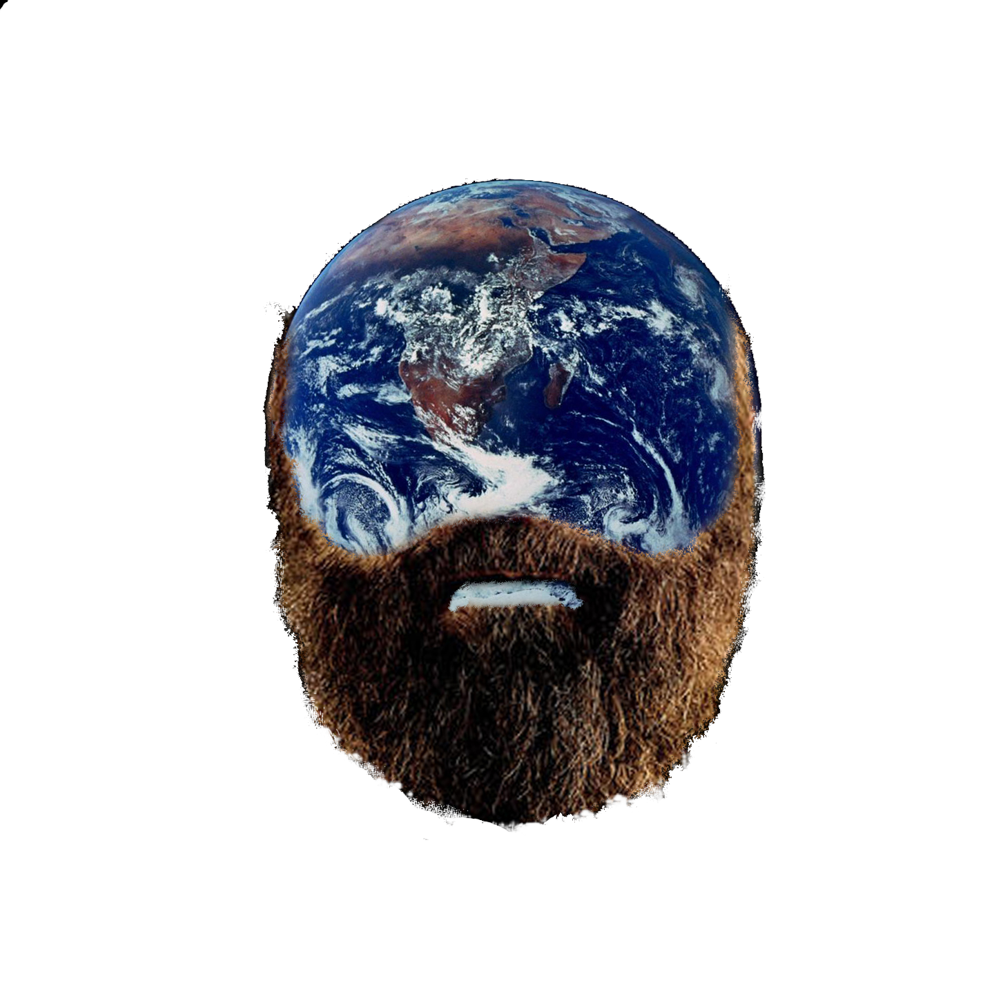earth with a beard - Funnyjunk.com