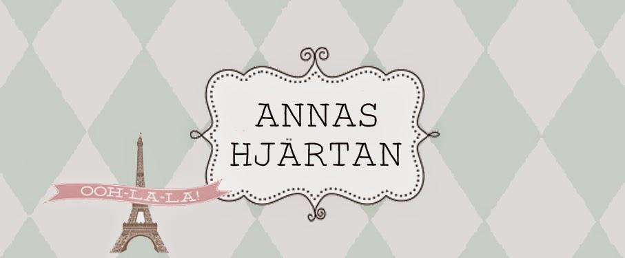 ♥ ♥  ♥  Annas hjärtan -  om inredning, familjeliv, projekt och livet i allmänhet