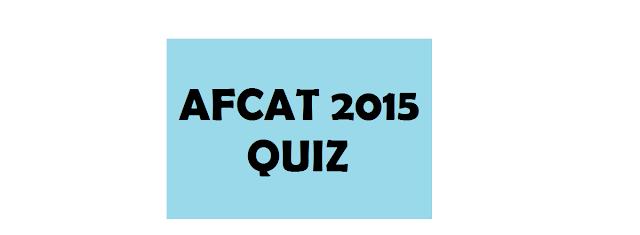 AFCAT 2015: History Quiz