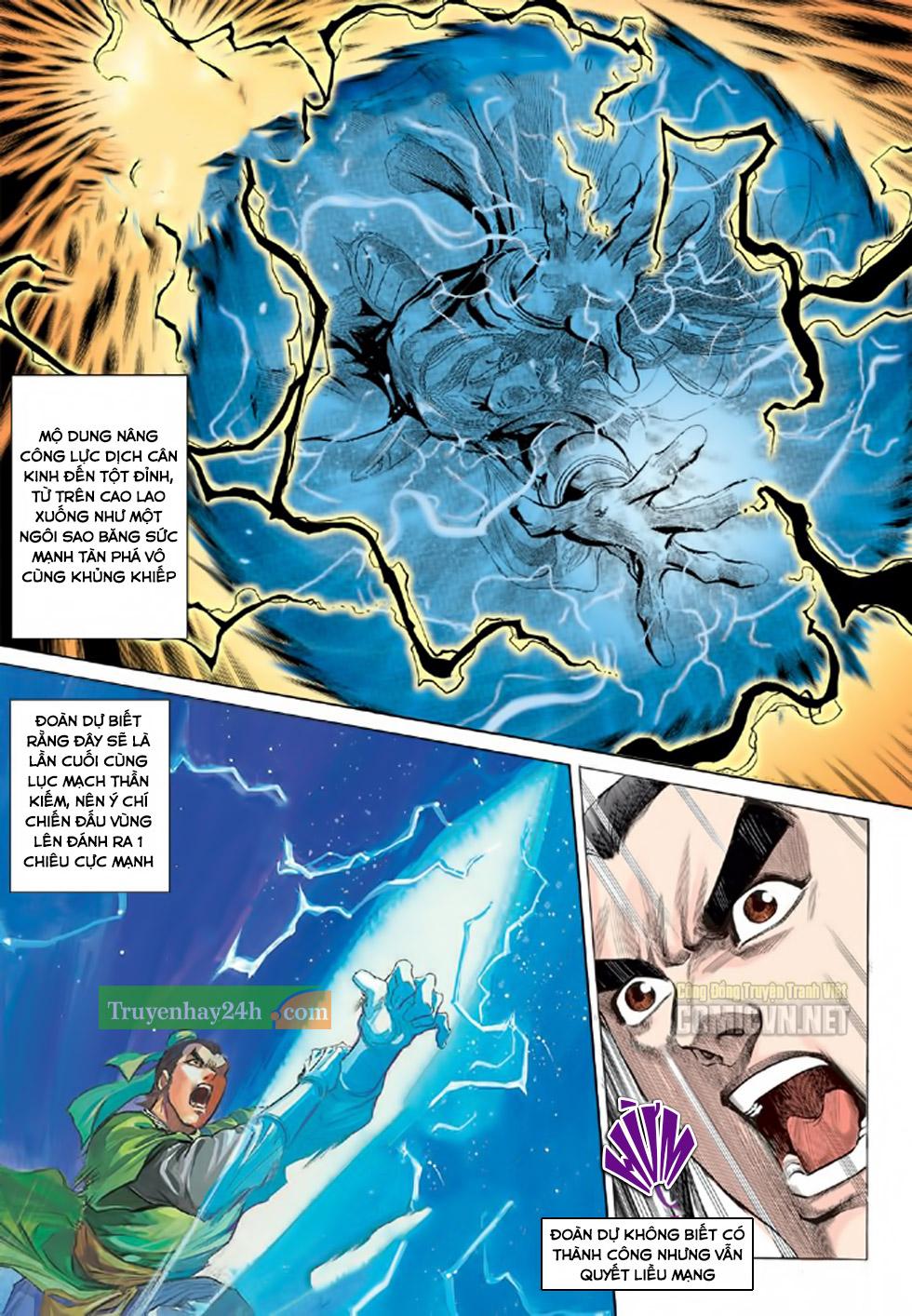 Thiên Long Bát Bộ chap 100 - Trang 5