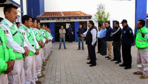 NOMBRA PRESIDENTE MUNICIPAL DE SCLC ENCARGADOS DE TRÁNSITO Y PROTECCIÓN CIVIL