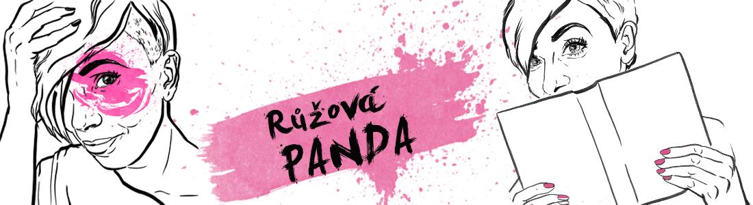 A pak přišla panda. A byla růžová.