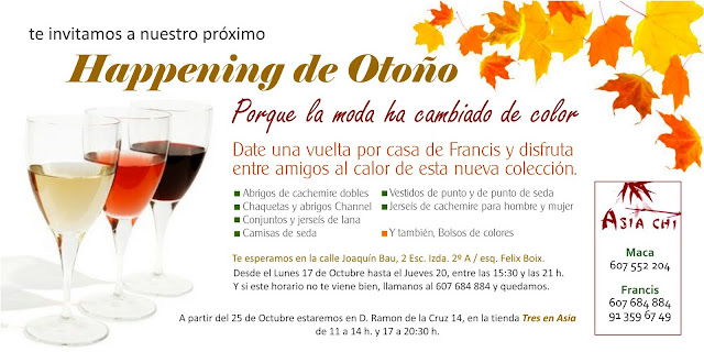 Happening de Otoño