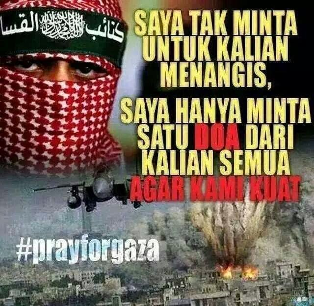 DOAKAN UNTUK PALESTINE