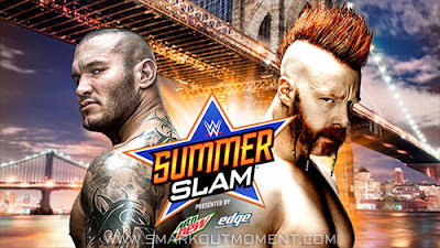 Randy Orton vs Sheamus at 2015 WWE PPV event SummerSlam