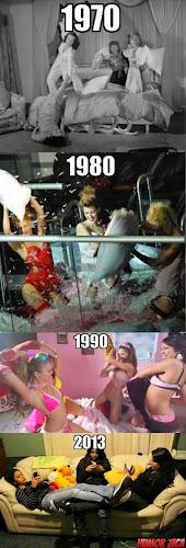 Os tempos mudam