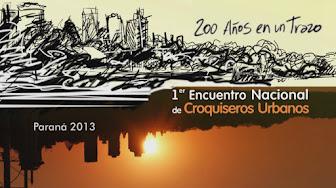 Documental del Primer Encuentro Nacional de Croquiseros Urbanos