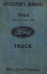 ford operators and Manual car and truck