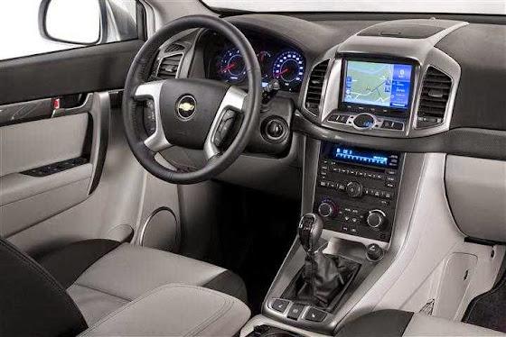 All New Chevrolet Captiva interior dahsboard