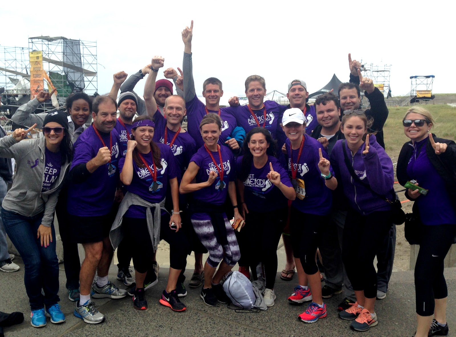 Hood to Coast Relay 2015, Barefoot Foot Patrol Team