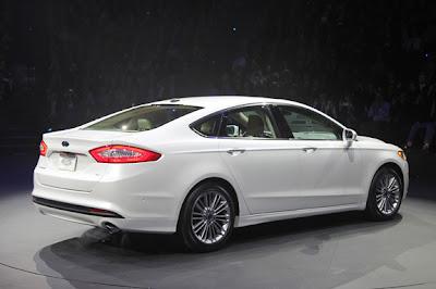 Ford Fusion 2013 ,Destaques do Salão do Automóvel de Detroit 2012