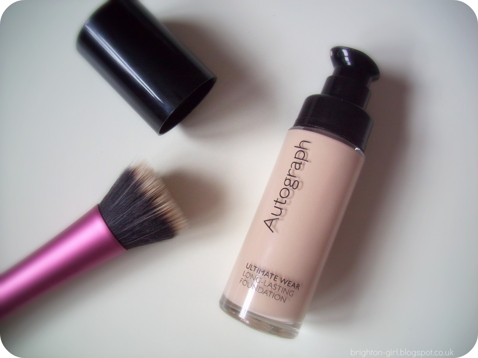 Autograph's Ultimate Wear foundation is £12 for 28ml, compared to £20.50 for 30ml of Studio Fix Fluid.