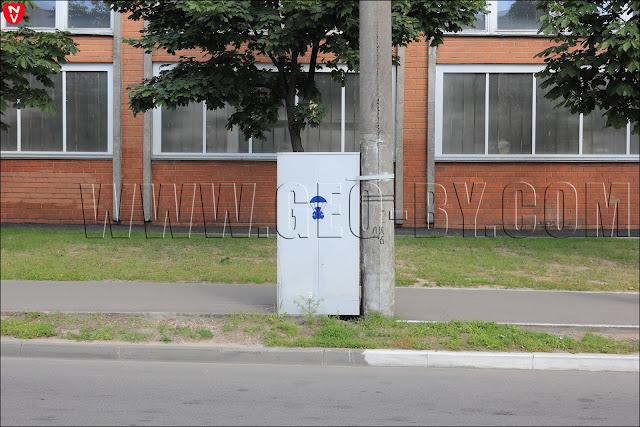 Граффити в Минск в память о плюшевом десанте