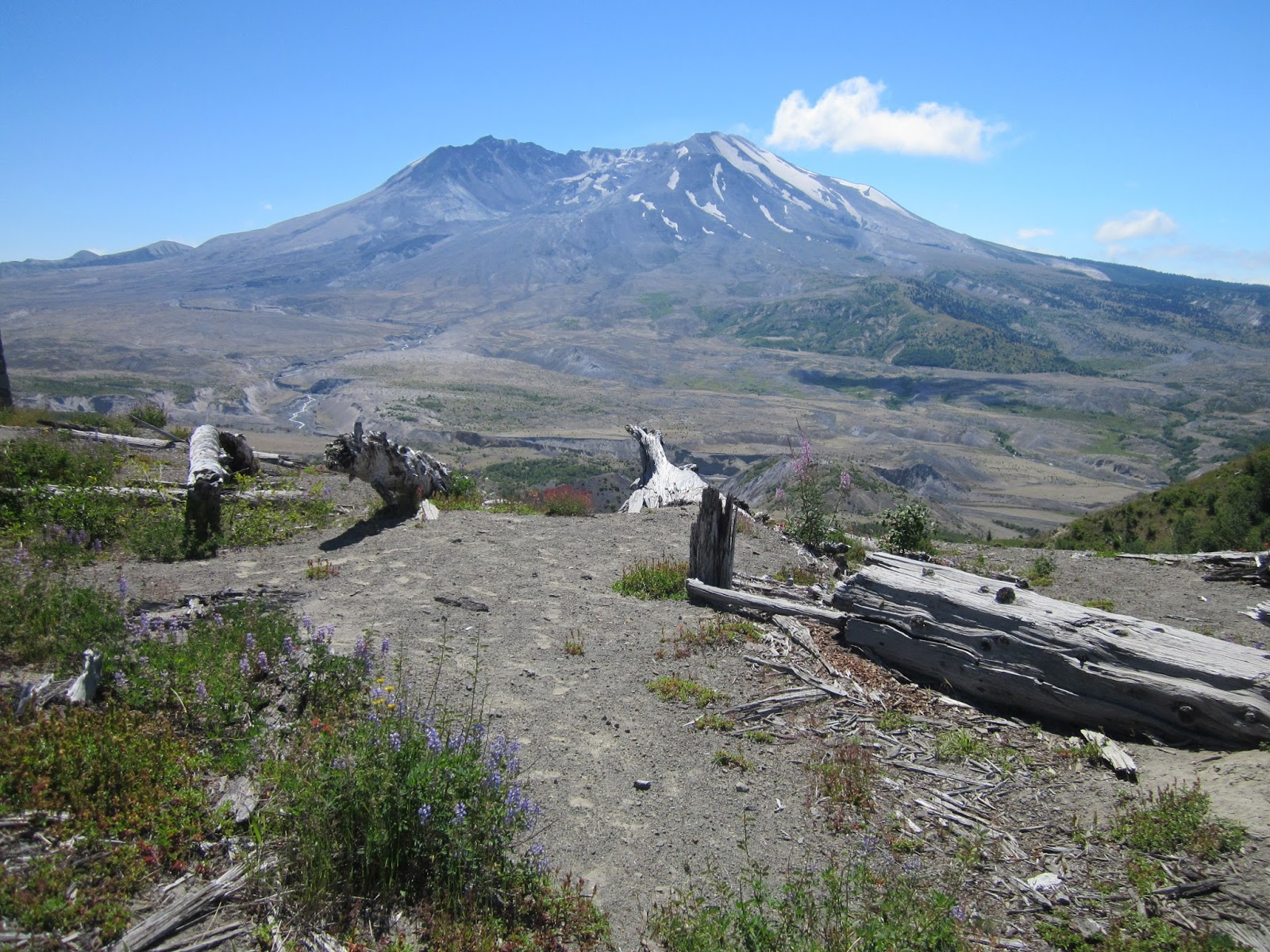 St. Hookup Helens Lava Flows Mt. Of