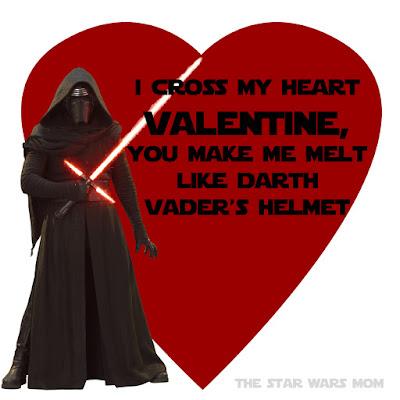 Kylo Ren Valentine by The Star Wars Mom