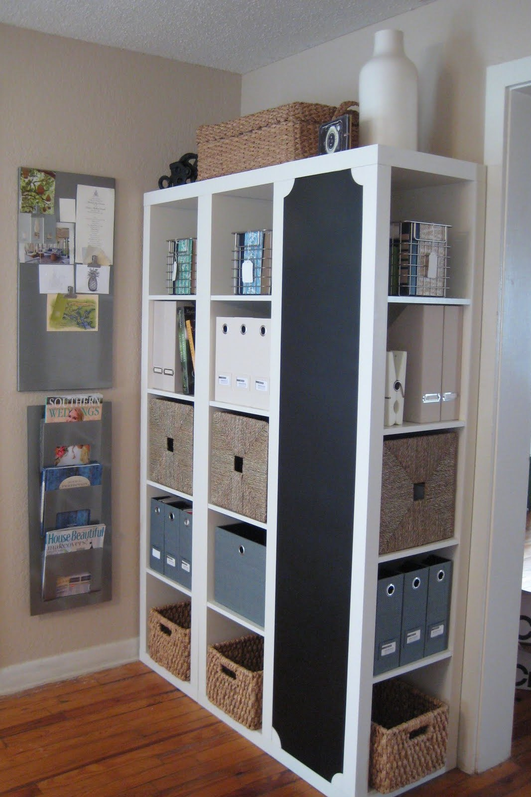 Small closet make-over: bedroom ideas, closet, organizing, painting, storage ideas s 16 brilliant ways to squeeze much more into your closet, closet, organizing, storage ideas, Rethink your direction for more efficiency Make The Most Out of a Small Closet by rearranging and painting. Shelves on one end, 2 hanging rails on the other end.
