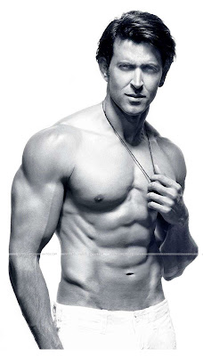 Hrithik Roshan's Shirtless Muscular Photo Shoot Pics