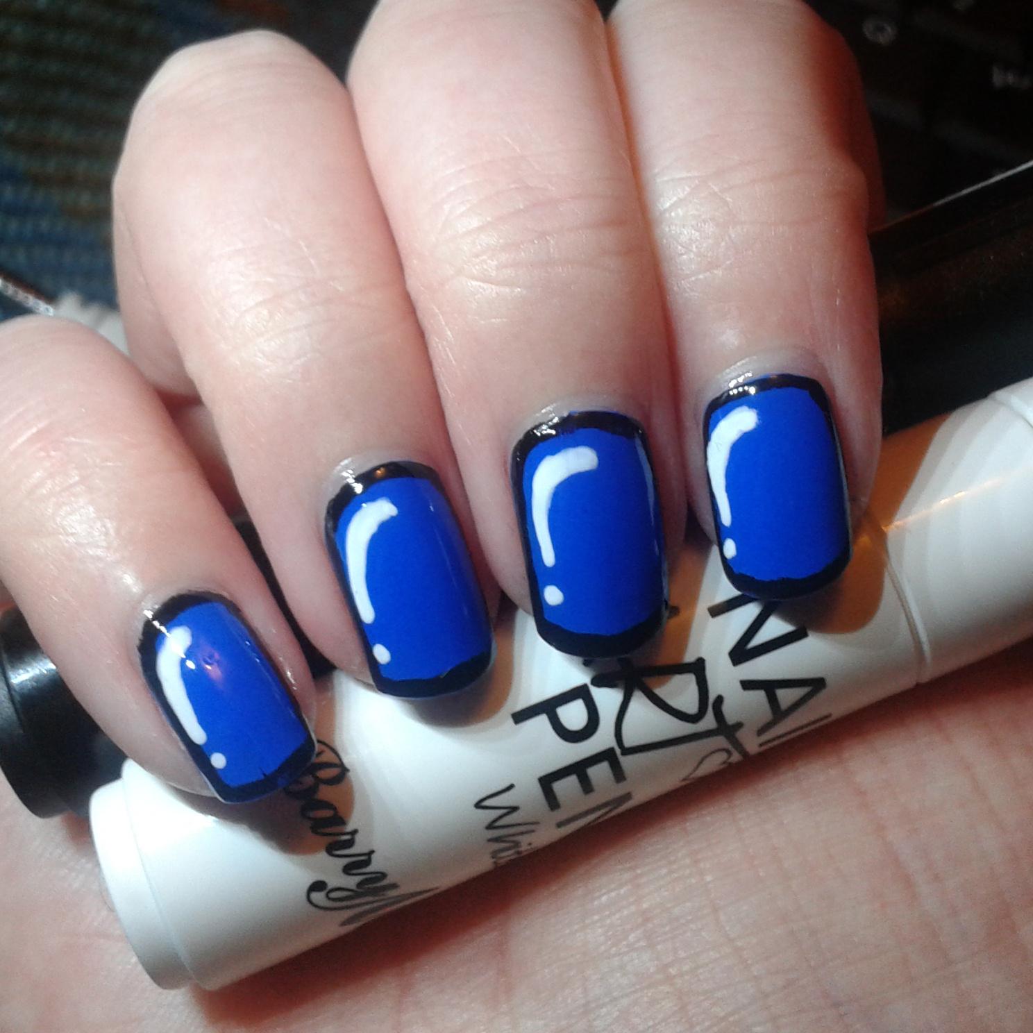 Geordie Nails Barry M Nail Art Pens