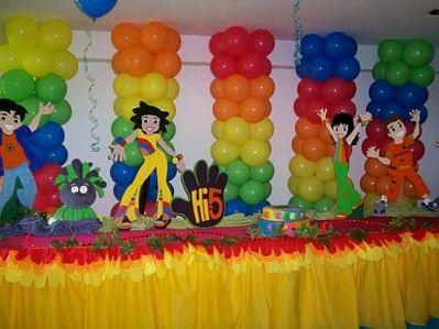 Fiestas infantiles decoraci n hi5 - Que se necesita para una fiesta infantil ...