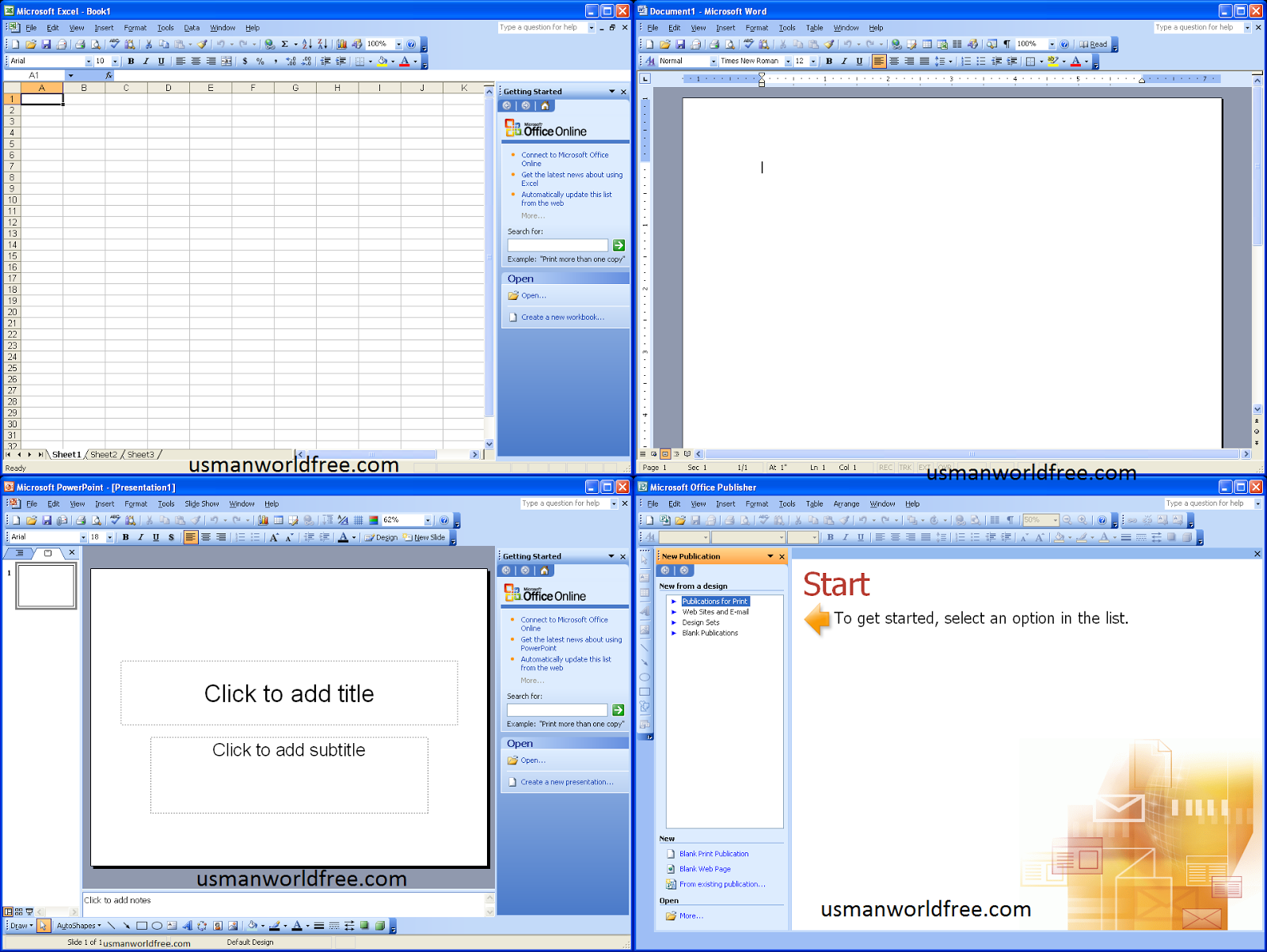 ms office 2003 for window 7 free download