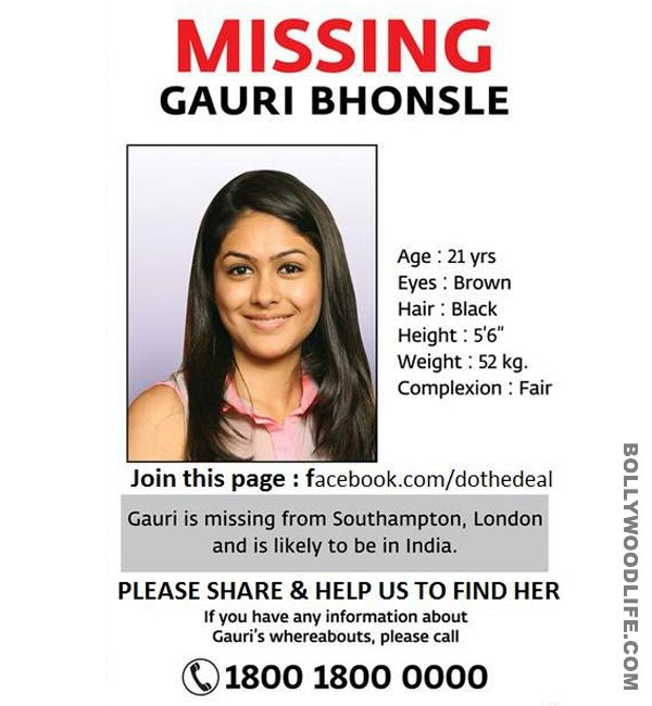 Examples Of Missing Persons Posters Http://bollywoodclx.blogspot.com U2026  Missing Person Flyer