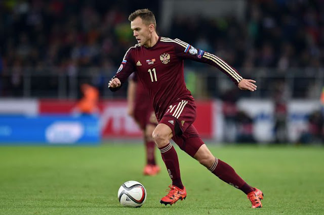 Cheryshev is looking for game time ahead of Euro 2016 (Picture: Getty)